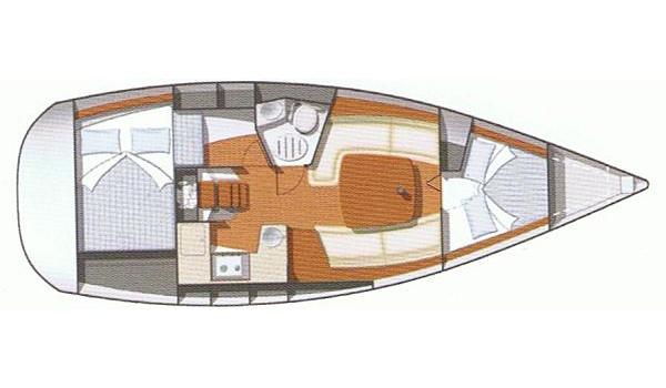 JeanneauSun Odyssey 32 i Charter Croatia 670